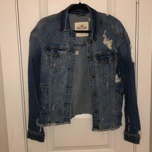 SOLD Destroyed Hollister Jacket